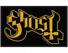 GHOST logo 2012 - WOVEN SEW ON PATCH official merchandise