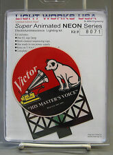 MILLER ENGINEERING RCA VICTOR ANIMATED NEON BILLBOARD train track #8071 NEW