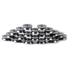 20pcs Steel Deep V Groove Roller Guide Pulley Rail Track Ball Bearing 3x12x4mm