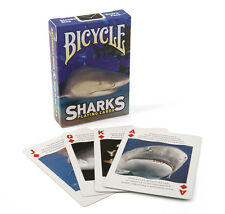Bicycle Sharks Playing Cards Brand New Sealed