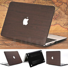 "Wooden Pattern Leather Coated Matte Case for MacBook Pro 13"" A1278 (Have CD-Rom)"