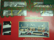 (RARE) Franks Winter Time  HO Scale Express Train Set By Bachmann
