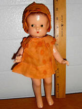"Vintage Effanbee Side Glancing 11"" Patsy Doll 1920's"