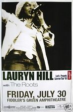 LAURYN HILL / THE ROOTS 1999 DENVER CONCERT TOUR POSTER - Fugees,Neo-Soul Music