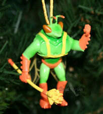 NEW Disney TOY STORY TWITCH GREEN ORANGE BUG WINGS STAFF Christmas Ornament PVC