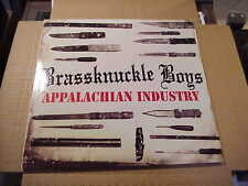LP:  BRASSKNUCKLE BOYS - Appalachian Industry  NEW WHITE VINYL Ltd 100 copies