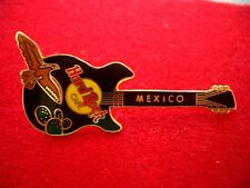 HRC Hard Rock Cafe Mexico Black Rickenbacker Guitar + Bird LE