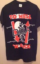 D.O.A. To Hell 'N Back T Shirt Size Small Punk Hardcore
