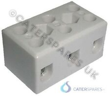 HEATED GANTRY UNIT TERMINAL CONNECTOR BLOCK 32A 3 POLE HIGH TEMPERATURE CERAMIC