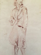 Reginald Marsh Original on Paper - Women