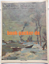 DIE FREIE STUNDE 1936 Nr. 28: Die Bergwacht muss helfen