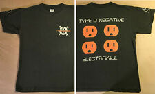 1997 Type O Negative T-Shirt M/L Electrakill october rust peter steel carnivore