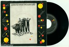 WINGS (McCartney) - Listen to what the Man Said/ Love in Song - 1975 DUTCH PS