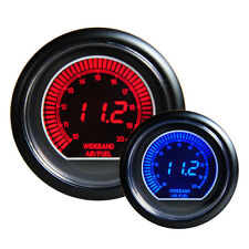 "12V 2.5""60mm Digital Color Analog LCD Air/Fuel Ratio Monitor Racing Gauge New"