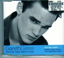 (DO159) Gareth Gates, What My Heart Wants To Say - 2002 CD