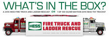MINT UNOPENED 2015 HESS RED TOY FIRE TRUCK AND  LADDER RESCUE JUST AS RECEIVED