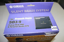 NEW Yamaha Silent Brass French Horn SB3-9 Pickup Mute PM3 & Personal Studio ST9