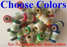 1 Spool of Embroidery Machine Thread Viscose Choose Colours.1 Flat / Free Postg