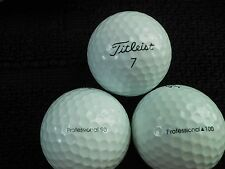 "20 TITLEIST  ""PROFESSIONAL 90/100 REFINISHED"" - Golf Balls  - ""A"" Grade."