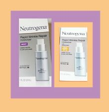 Neutrogena Rapid Wrinkle Repair Moisturizer, NIGHT & DAY (SPF30), 2 boxes