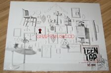 TEEN TOP RED POINT CHIC Version K-POP CD + PHOTOCARD + FOLDED POSTER NEW