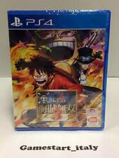 ONE PIECE PIRATE WARRIORS 3 - KAIZOKU MUSOU 3 (SONY PS4) NUOVO SIGILLATO NEW