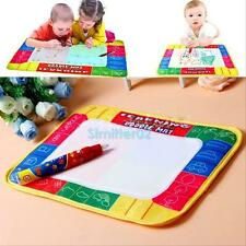 Drawing Water Pen Painting Magic Doodle Aquadoodle Mat Board Kid Boy Girl Toy Q