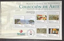 Colección de Arte - 70 Years of Banco Central de Venezuela (BCV) Souvenir Sheet