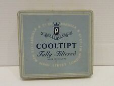 Vintage CIGARETTE Tin Made IN London COOLTIPT   - Ref P780
