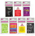 Brainbox Candy Magnetic Notebook/Notepad funny cheap joke gift present humour