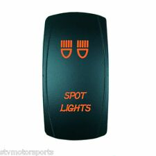 POLARIS RANGER RZR XP 1000 BACKLIT ORANGE ROCKER SWITCH SPOT LIGHTS UTV ATV