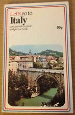 LETTS GO TO ITALY Complete Guide And Phrase Book (Paperback)