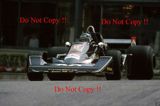 Jacky Ickx Wolf Williams FW05 Monaco Grand Prix 1976 Photograph 5