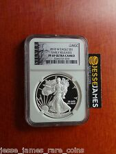 2010 W PROOF SILVER EAGLE NGC PF69 ULTRA CAMEO EARLY RELEASES BLACK ALS LABEL