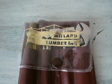 MILLARD Lumber Inc. Miniature Tool Pouch With Tools Advertising (1) NOS