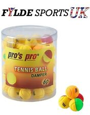 3 x Pro's Pro Tennis Ball Damper Shock Absorber Vibration Dampener