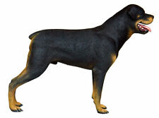 "Rottweiler Standing Dog Statue Life Size Resin Statue Prop Display ""Free Shippin"