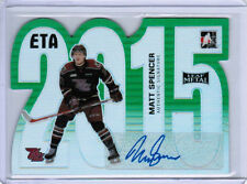 14/15 LEAF METAL MATT SPENCER ETA 2015 DIE CUT AUTO GREEN 1/3 PETERBOROUGH PETES