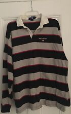 Authentic Polo Sport Ralph Lauren vintage rare 90s rugby shirt U.S.A. XL striped
