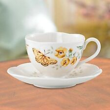 Lenox Butterfly Meadow Fritillary China Cup & Saucer NEW  17648