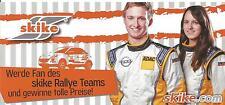 Carte postale Postcard OPEL ADAM SKIKE RALLY WRC ALLEMAGNE 2013