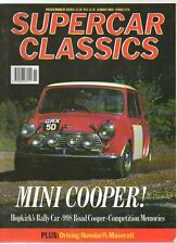 SUPER CAR CLASSICS MAGAZINE - November 1990