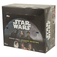 Topps Trading Cards - STAR WARS Rogue One: Mission Briefing - BOX (24 Packs) New