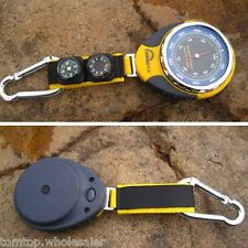 4 in 1 Altimeter Barometer Compass Thermometer for Outdoor Camping Hiking New