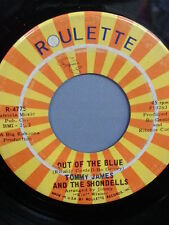 "TOMMY JAMES AND THE SHONDELLS 45 RPM ""Out of the Blue"" ""Love's Closin' In..."" VG"