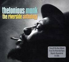 THELONIOUS MONK - THE RIVERSIDE ANTHOLOGY - 3 OF HIS BEST ALBUMS -NEW SEALED 3CD