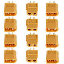 XT60 Male & Female Bullet Connectors Plugs for RC Lipo Battery 10Pairs 2015 New
