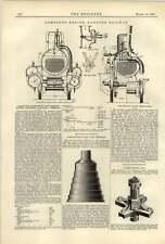 1887 Von Borries System Hanover Railroad Partington Step Cone Firebox