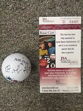 Bob Goalby Autographed Signed Golf Ball JSA Authentication