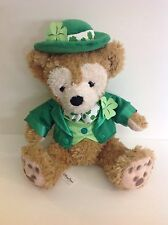 Disney Parks Duffy The Disney Bear St Patrick's Day Plush Hidden Mickey